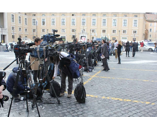 Tuesday March 12, 2013: Action News' Brian Taff and his crew are in Rome on assignment, covering the selection of the next pope.