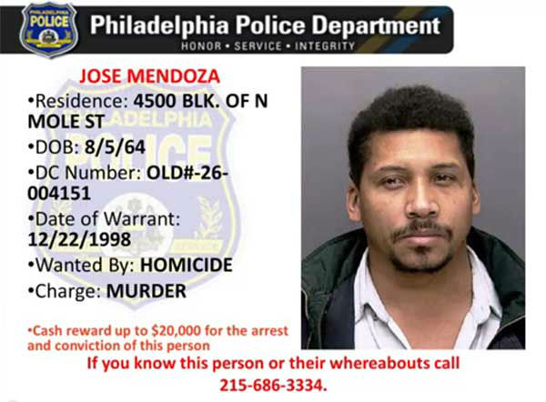 "<div class=""meta ""><span class=""caption-text "">Pictured:  One of the 100 most wanted being sought by the Philadelphia Police Department.  Anyone with information on this suspect is asked to contact Philadelphia Police at 215-686-TIPS (8477), text a tip to PPD TIP (773847) or through PhillyPolice.com.</span></div>"