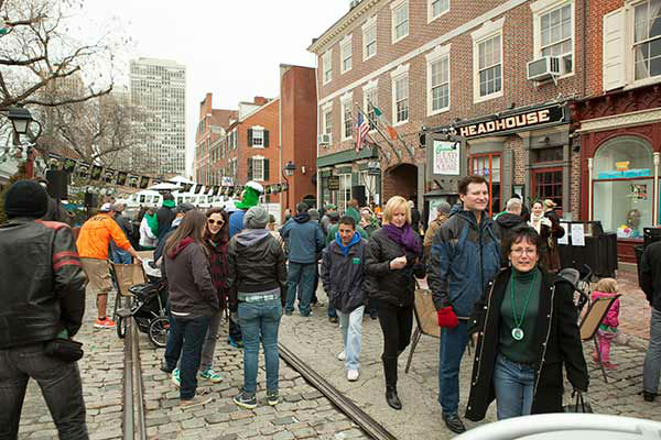 Pictured: The inaugural Headhouse Irish Festival by Cavanaugh's Headhouse and O'Neals Pub.  (Courtesy: South Street Headhouse District)
