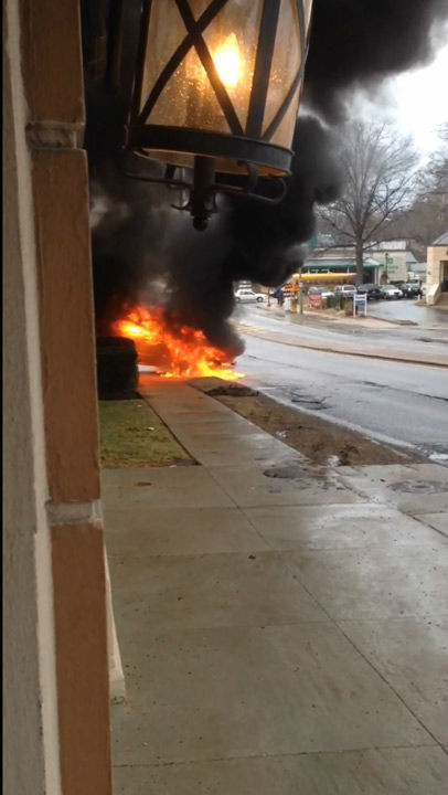 "<div class=""meta image-caption""><div class=""origin-logo origin-image ""><span></span></div><span class=""caption-text"">Action News viewer Connor Woodward was on the scene as a truck caught fire in the Wynnefield section of Philadelphia on April 2, 2014. </span></div>"