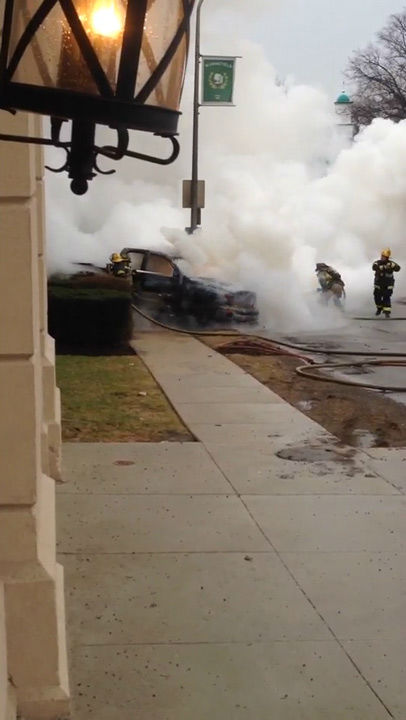 "<div class=""meta ""><span class=""caption-text "">Action News viewer Connor Woodward was on the scene as a truck caught fire in the Wynnefield section of Philadelphia on April 2, 2014. </span></div>"