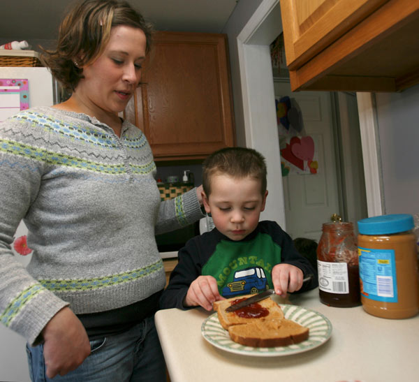 The average child will eat 1,500 peanut butter and jelly sandwiches before he&#47;she graduates high school.  &#40;Nationalpeanutboard.org&#41; <span class=meta>(AP Photo&#47;Jim Cole, File)</span>