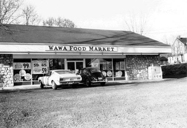 Wawa store in Folsom, Pa. from 1964 <span class=meta>(Photo&#47;Wawa)</span>