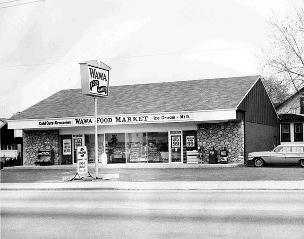 "<div class=""meta ""><span class=""caption-text "">Store #1 opened on April 16, 1964 in Folsom, Pa. American pop culture of the time also featured ?great hits? like the invasion of the Beatles, and the introduction of the Ford Mustang. (Photo/Wawa)</span></div>"