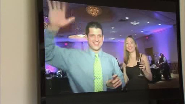 A Montgomery County mother of the bride wants to find two strangers who crashed her daughter's wedding in Valley Forge.