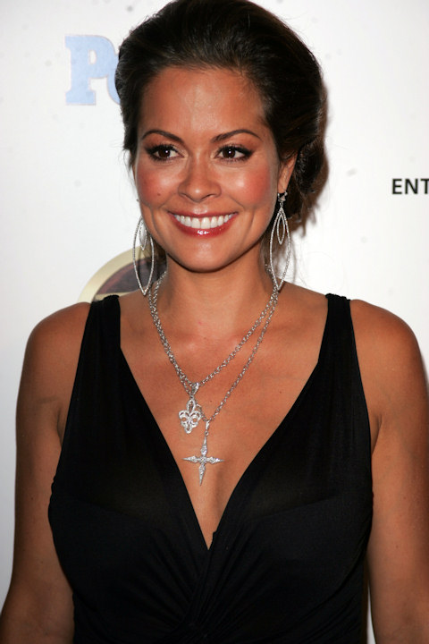 Brooke Burke named her daughter Heaven Rain Charvet. Burke arrives at the Entertainment Tonight/People Magazine Emmy Party at the Mondrian Hotel in Los Angeles, in this Aug. 27, 2006 file photo.  (AP Photo/Branimir Kvartuc)
