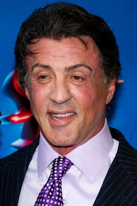 "Sylvester Stallone named his son Sage Moonblood. In this photo, Stallone arrives to the opening night performance of the Broadway musical ""Sister Act"" in New York, Wednesday, April 20, 2011. (AP Photo/Charles Sykes)"