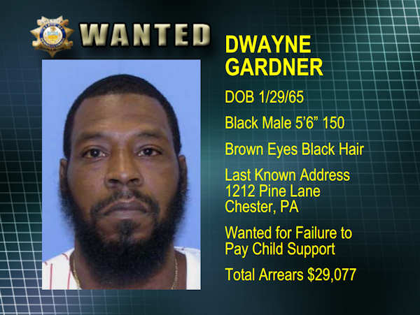 The Delaware County Sheriff's Department has updated its list of its most wanted fugitives.  If you have any information, submit a tip by email at rwanted@co.delaware.pa.us or call 1-877-RWANTED.