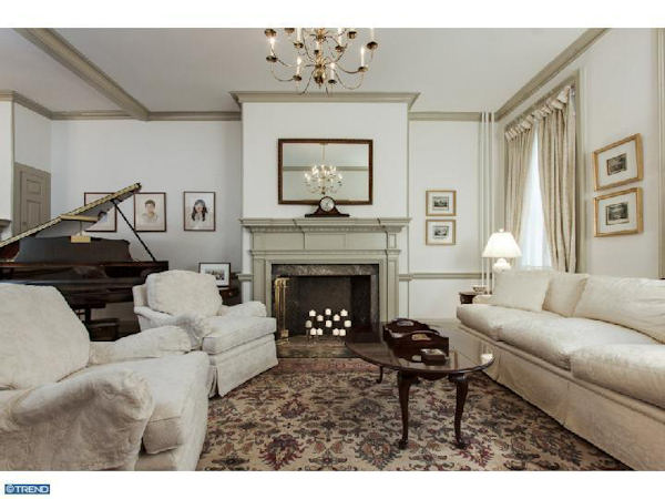 "<div class=""meta ""><span class=""caption-text "">Pictured: The $1.8 million property at 415 Pine Street in the Society Hill section of Philadelphia.      From the listing on McCannTeam.com: Federal style historic 1790s townhome lovingly restored during 2007-09. Many unique details lie within this spacious and gracious 5 BR, 3.2 bath home including original pine floors, six fireplaces, crown moldings, period hardware. Open living room, dining room and breakfast room w/ built-in shelving and cabinetry. Beautiful new custom kitchen w/ 2 work stations, stainless steel appliances, granite counters, skylights and stone flooring. Built-in computer desk and cabinets off kitchen. Sunroom w/ Franklin stove leads to charming private yard. 2nd floor w/ full bath, laundry rm and fantastic Master Suite w/ gas fireplace, a walk-in plus two additonal closets. Second BR with 1/2 bath leads to the 3rd level with FR w/ built-in wet bar, refrig/freezer, fireplace and flat screen TV as well as 3rd full bath and 3rd BR w tons of closet space and beautiful views. 4th level has 4th and 5th bedrms w/ built-ins and custom closets. Basement w/dog bath + lots of storage. High velocity AC t/o. A true MUST-SEE! One year prepaid two car parking!</span></div>"