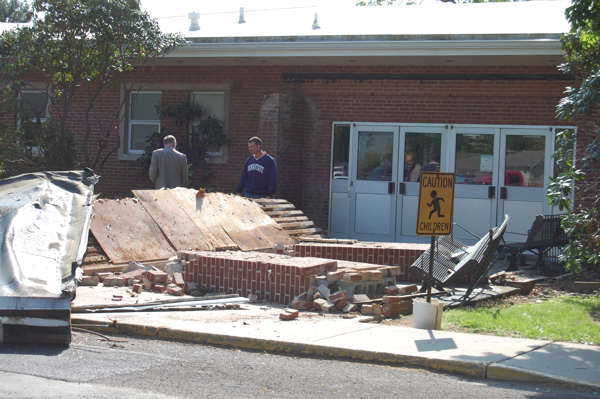 No one was seriously injured and school is opened as scheduled today. Images provided by Action News viewer Frank DiRenzo. <span class=meta>(Frank DiRenzo)</span>