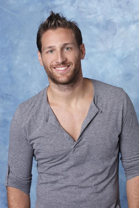 "<div class=""meta image-caption""><div class=""origin-logo origin-image ""><span></span></div><span class=""caption-text"">THE BACHELORETTE - The ninth edition of ABC's hit romance reality series, ""The Bachelorette,"" will premiere MONDAY, MAY 27 (8:00-10:01 p.m., ET), on the ABC Television Network. (ABC/Craig Sjodin) JUAN PABLO </span></div>"