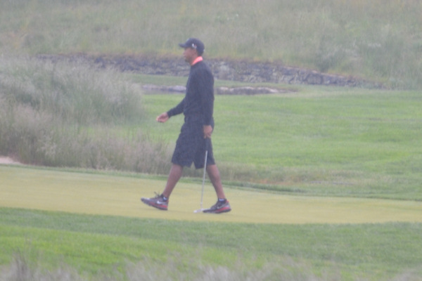 Tiger Woods at Merion