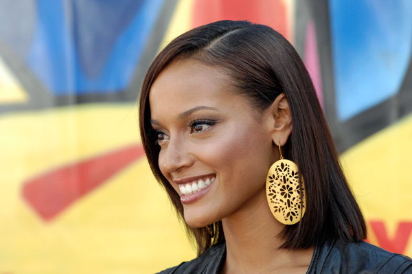Selita Ebanks arrives at the Teen Choice Awards in Universal City, Calif., Sunday, Aug 26, 2007. &#40;AP Photo&#47;Chris Pizzello&#41; <span class=meta>(AP Photo&#47;Chris Pizzello)</span>
