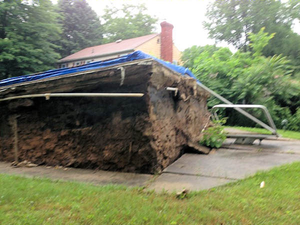 Chester County storm damage
