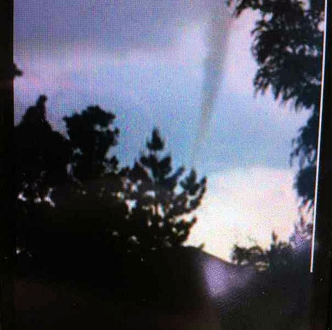 An Action News viewer sent a picture of what appears to be a funnel cloud in New Castle County.  A tornado warning was issued for the county on Monday, June 10th.