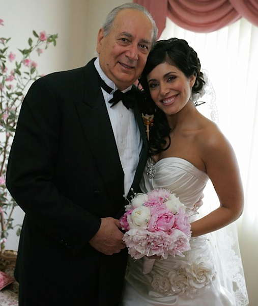 Albert Vitarelli with Alicia.	 <span class=meta>(Alicia Vitarelli with her father)</span>