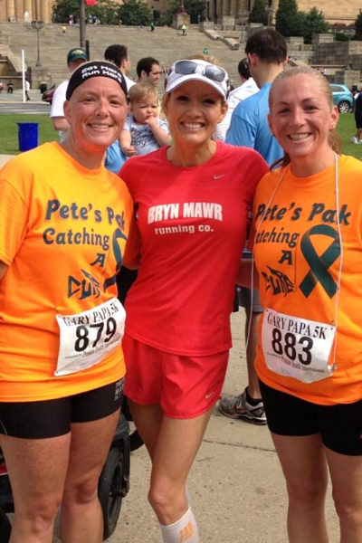 Thousands of runners and walkers, including members of our 6abc family, spent Father&#39;s Day helping to fight prostate cancer at the 11th Annual Gary Papa Run. <span class=meta>(Laurie Jaskiewicz)</span>