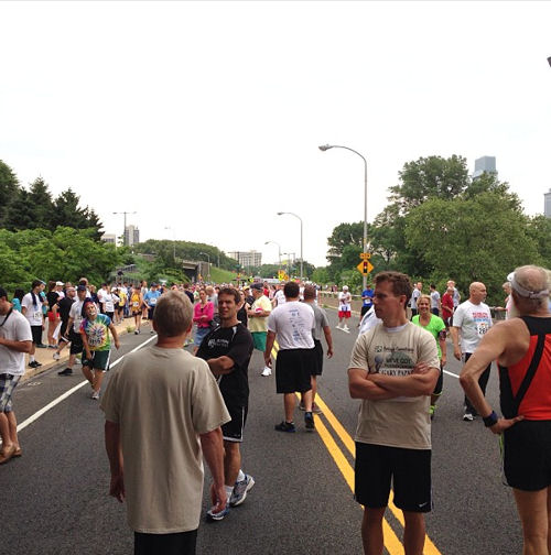"<div class=""meta ""><span class=""caption-text "">Thousands of runners and walkers spent Father's Day helping to fight prostate cancer at the 11th Annual Gary Papa Run. (Matt O'Donnell)</span></div>"