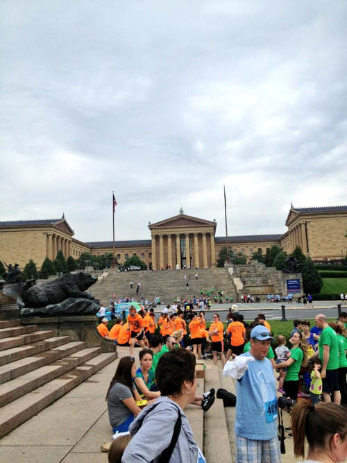 Thousands of runners and walkers spent Father&#39;s Day helping to fight prostate cancer at the 11th Annual Gary Papa Run. <span class=meta>(Jacyln Jaffe)</span>