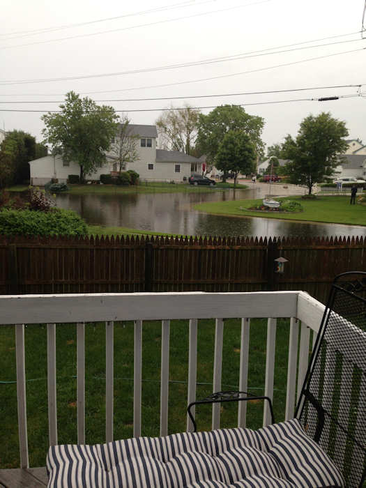 June 18, 2013: An Action News viewer sent this view from Collete Circle and Sarazen Road in Brigantine, N.J.