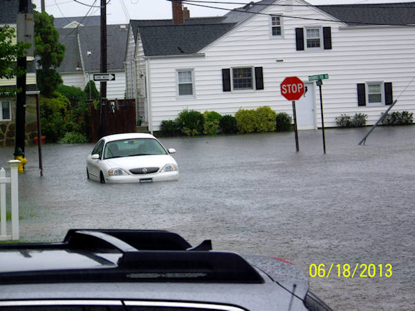 June 18, 2013: An Action News viewer sent this view of Swarthmore Avenue in Ventnor, N.J.