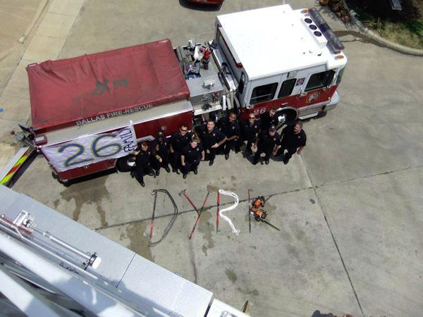 Firefighter's tribute to dying 4-year-old