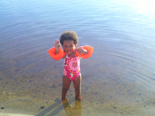 Submitted by: Muudee Caption: Mai'Lyia in the water   CLICK HERE to submit your Shoretographs!