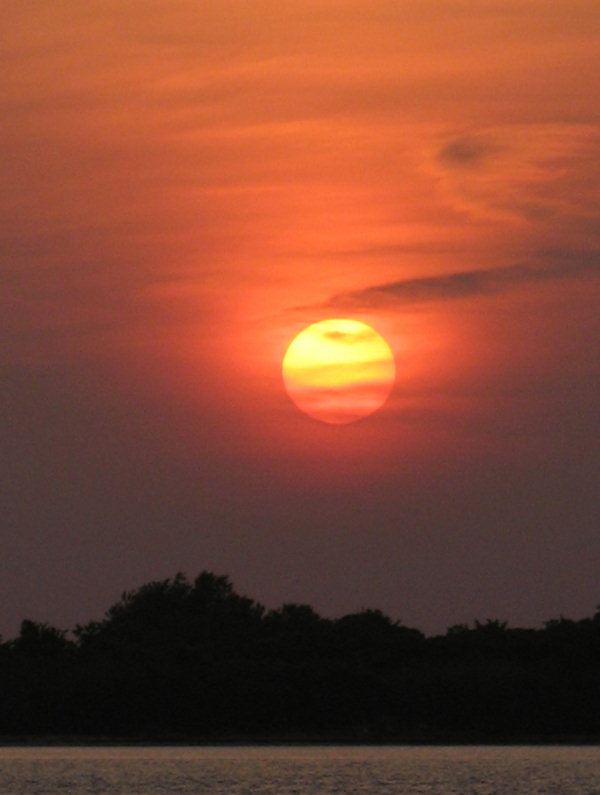Submitted by:  Cindy Caption: Sunset in Barnegat Light   CLICK HERE to submit your Shoretographs!