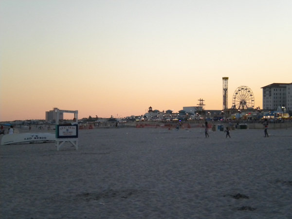 Submitted by:  Kelly Caption: Ocean City NJ Boardwalk at sunrise   CLICK HERE to submit your Shoretographs!