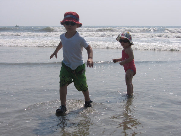 Submitted by: Paul S Caption: 1st time at the beach!   CLICK HERE to submit your Shoretographs!