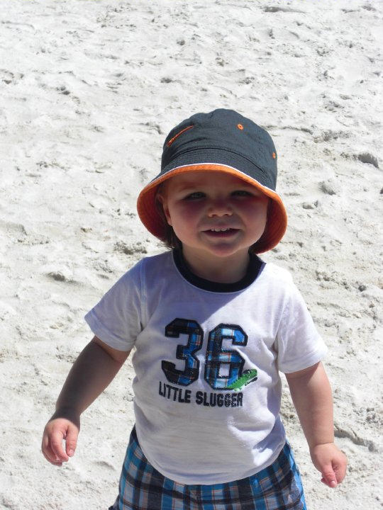 Submitted by:  Charles Michael Iannetta Caption: Little Charlie enjoying the Memorial Day weekend at the beach.   CLICK HERE to submit your Shoretographs!