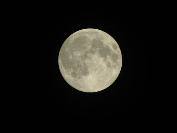 "<div class=""meta ""><span class=""caption-text "">Action News viewers took out their cameras as a supermoon lit up the sky Sunday morning. A supermoon occurs when the moon is full and it's at the closet point to the earth - only 221,824 miles away. It's 14 percent larger and 30 percent brighter than an average full moon. Yeadon CommunityNews sent in this photo on Facebook of the supermoon over Yeadon Borough Hall on June 23, 2013.</span></div>"