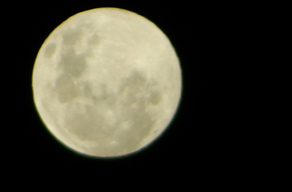 "<div class=""meta ""><span class=""caption-text "">Action News viewers took out their cameras as a supermoon lit up the sky Sunday morning. A supermoon occurs when the moon is full and it's at the closet point to the earth - only 221,824 miles away. It's 14 percent larger and 30 percent brighter than an average full moon. Viewer Chrissy Distefano sent in this photo on Facebook of the supermoon in Georgetown, Delaware on June 23, 2013.</span></div>"