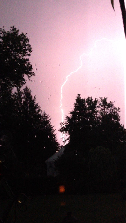 An Action News viewer took this photo in Laurel Springs, N.J. on Monday, June 24, 2013. <span class=meta>(Viewer Photo)</span>