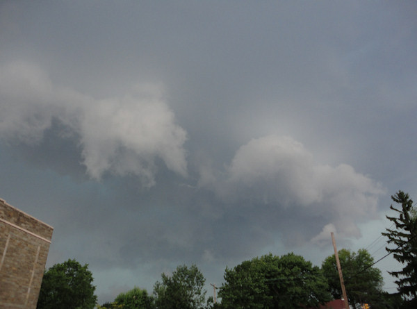 Submitted by:Brian  Caption:At State Road and Shadeland Ave in Drexel Hill, this was the leading edge of the storm called the gust front.   RELATED: CLICK HERE for more viewer submitted photos: