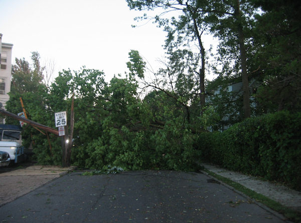 Submitted by:Adamal  Caption:Lansdowne storm on Wycombe Ave   RELATED: CLICK HERE for more viewer submitted photos: