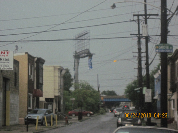 Storm damage pictures submitted to 6abc.com