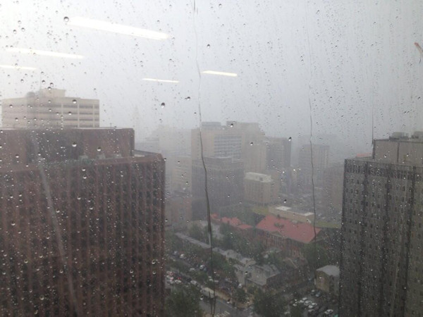 Action News viewer Mike M. took this photo in Center City on June 26, 2013. <span class=meta>(Viewer Photo)</span>