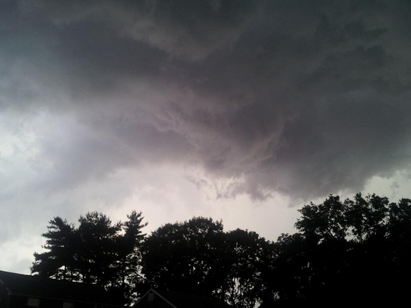 Action News viewer John O&#39;Connor took this photo in Havertown, Pa. on June 26, 2013. <span class=meta>(Viewer Photo)</span>
