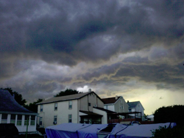 Stosha Andrien snapped this photo in Boothwyn, Pa. and sent it via Facebook.