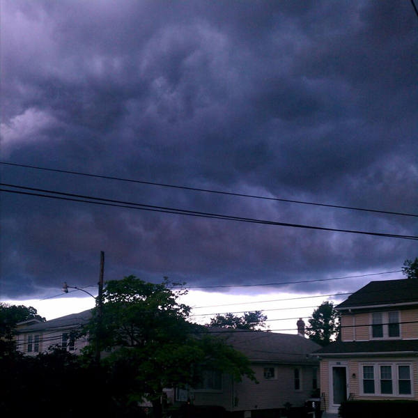 Patti Sharpless snapped this photo in Glendolden, Pa. and sent it to us via Twitter.