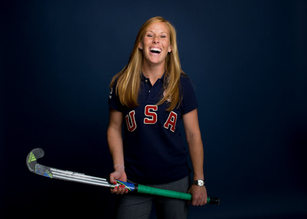 "Pictured: Lauren Crandall, Field Hockey, 5'3"" 130, 3/17/1985, Doylestown, Midfielder  A total of 35 Pennsylvanians will compete in the 2012 Summer Olympic Games in London.    (AP Photo)"