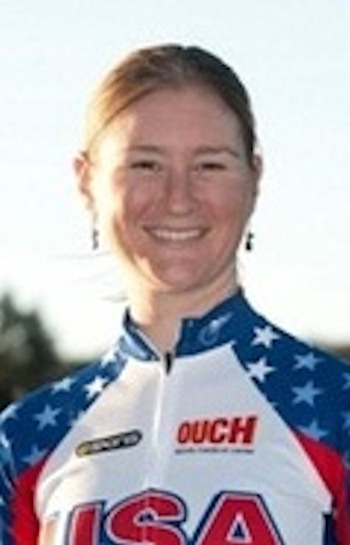"Pictured: Lauren Tamayo, Cycling, 5'10"" 142, 10/25/1983, Barto, Track  A total of 35 Pennsylvanians will compete in the 2012 Summer Olympic Games in London.    (teamusa.org Photo)"