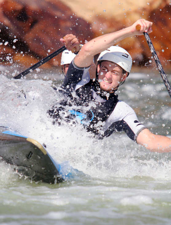 "Pictured: Casey Eichfeld, Canoe/Kayak, 5'10"" 165, 11/15/1989, Drums, Slalom  A total of 35 Pennsylvanians will compete in the 2012 Summer Olympic Games in London.    (AP Photo)"