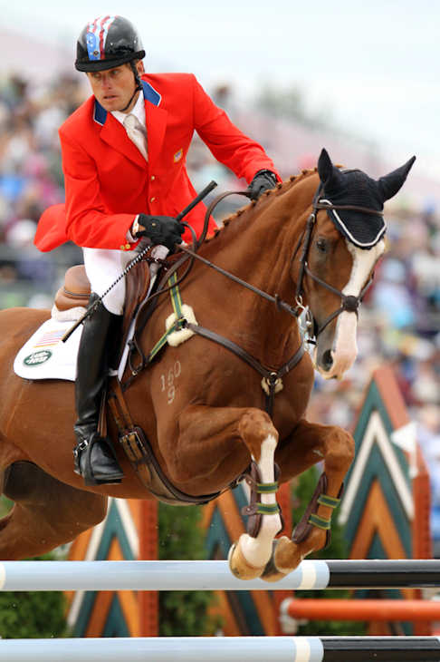 "<div class=""meta ""><span class=""caption-text "">Pictured: Boyd Martin, Equestrian, 6'1"" 150, 8/20/1979, Cochranville, Eventing  A total of 35 Pennsylvanians will compete in the 2012 Summer Olympic Games in London.    (AP Photo)  </span></div>"
