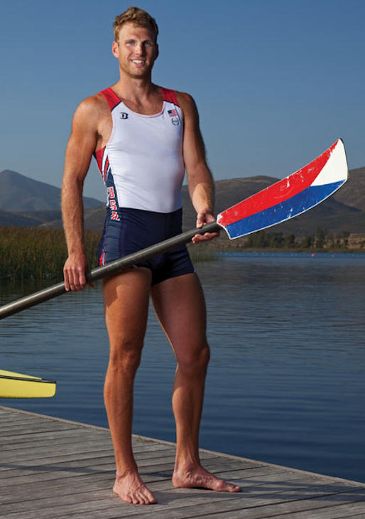 "Pictured: Glenn Ochal, Rowing, 6'4"" 205, 3/1/1986, Philadelphia, Men's Four  A total of 35 Pennsylvanians will compete in the 2012 Summer Olympic Games in London.    (Family Photo)"