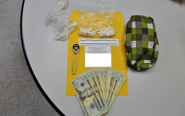 "Pictured: Evidence seized during ""Operation Phoenix."""