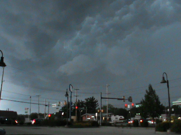 PA Driver Watch sent in this photo from Norristown to 6abc.com of the storm on July 26, 2012.