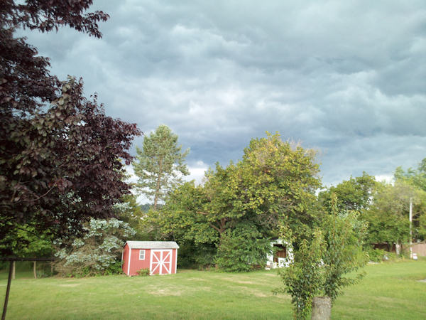 An Action News viewer sent in this photo from East Greenville to 6abc.com of the storm on July 26, 2012.