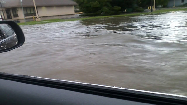 Cathy Murray Seagreaves snapped this photo along White Horse Pike.